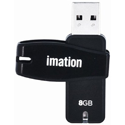USB 2.0 Swivel Flash Drive 8GB