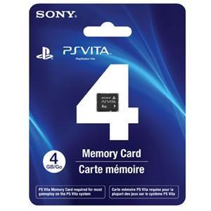 Sony PSV22038 4 GB PS Vita Memory Card - 1 Card