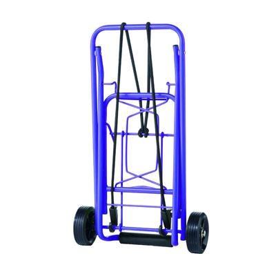 CTS Folding Luggage Cart Purpl