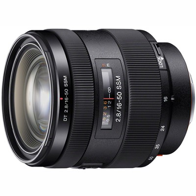 SAL1650 - 16-50mm f/2.8 Standard Zoom A-Mount Lens