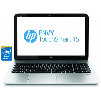 Envy TouchSmart 15.6` 15-j150us Notebook PC -Intel Core i7-4700MQ Pro - OPEN BOX