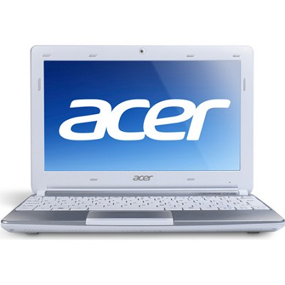 Aspire One AOD270-1834 10.1` Netbook PC (White) - Intel Atom Proc. Dual-Core N26