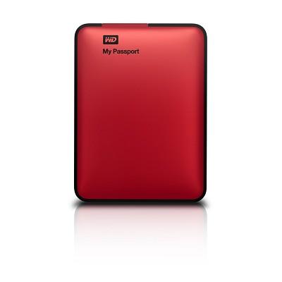 My Passport 1 TB USB 2.0 & 3.0 Portable Hard Drive - WDBBEP0010BRD-NESN (Red)