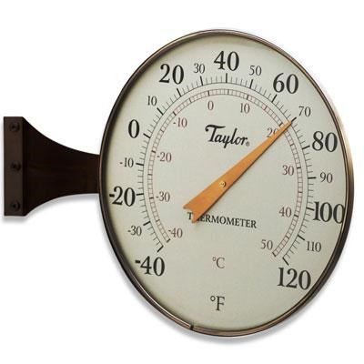 8.5` Dial Thermometer Bronze