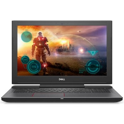 i7577-7289BLK Inspiron 15.6` i7-7700HQ 16GB RAM, 512GB Gaming Notebook Laptop