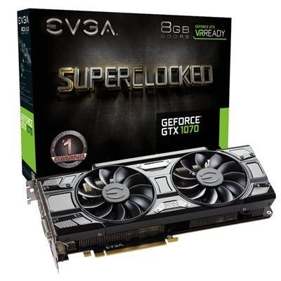 GeForce GTX 1070 8GB GDDR5 Gaming Graphics Card - 08G-P4-5173-KR