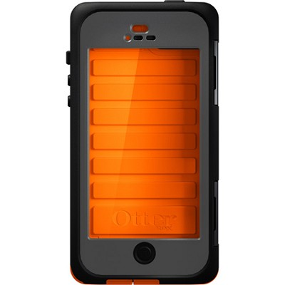 Armor Series Waterproof Case for iPhone 5 - Retail Packaging - Electric Orange