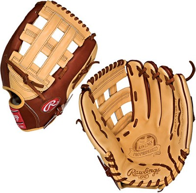 Pro Preferred 12.75 inch 2-Tone Baseball Glove (Right Handed Throw)