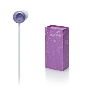ATH-CKF300 FashionFidelity Bloom In-ear Headphones Purple