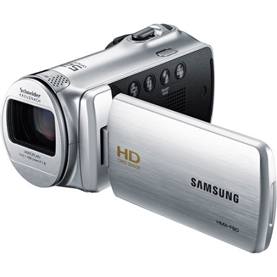 HMX-F80SN HD Flash Memory Camcorder (Silver)