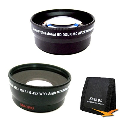 Advanced Kit for CANON Rebel (T4i T3i T3 T2 T2i ), CANON EOS (60D 7D)