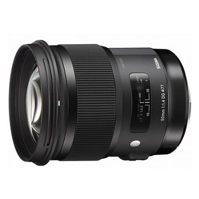 50mm f/1.4 DG HSM Lens for Sigma SA Cameras