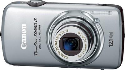 Powershot SD980 IS Digital ELPH Digital Camera (Silver)