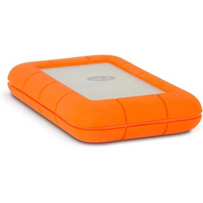 Rugged Thunderbolt Mobile Hard Drive w/ Integrated Thunderbolt Cable 250GB SSD