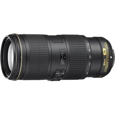 AF-S NIKKOR 70-200MM F/4G ED VR Lens for Nikon DSLR Cameras Factory Refurbished