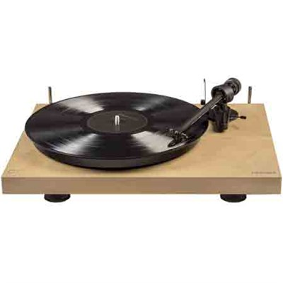 Hardwood Turntable with Low Vibration Synchronous Motor C10A-NA (Natural)