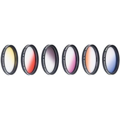 72mm Graduated Color Multicoated 6pcs Filter Set