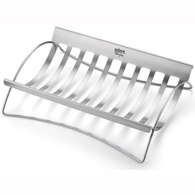 Style Stainless Steel Roast Holder - 6436
