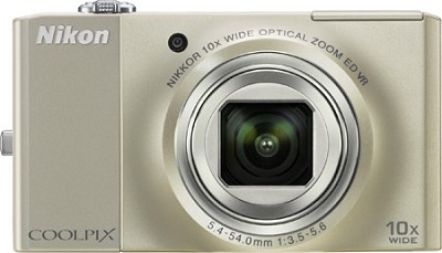 COOLPIX S8000 14.2 Megapixel Digital Camera (Champagne Silver)