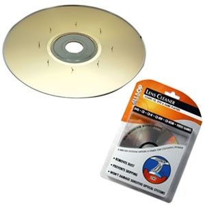 CD/DVD Drive Ultra 8 Laser Lens Cleaner - CLEARANCE