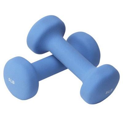 HW5 Hand Weights - 5 lb. each/10 lb. pair