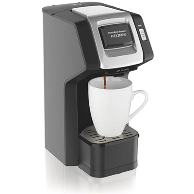 49974 FlexBrew Single-Serve Coffee Maker for K-Cups and Ground Coffee - Black
