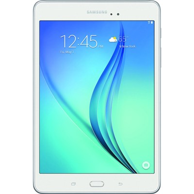 Galaxy Tab A SM-T350NZWAXAR 8-Inch Tablet (16 GB, White) - OPEN BOX