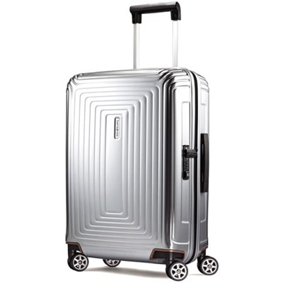 20` Neopulse Hardside Spinner 55/20 - Metallic Silver
