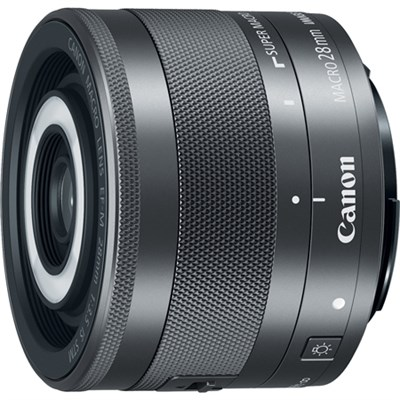EF-M 28mm f/3.5 Macro IS STM Lens for Canon EOS M Series Digital Cameras