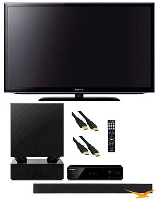 KDL55EX640 - 55 inch Wifi XR240 LED Internet TV + HTCT550W Soundbar