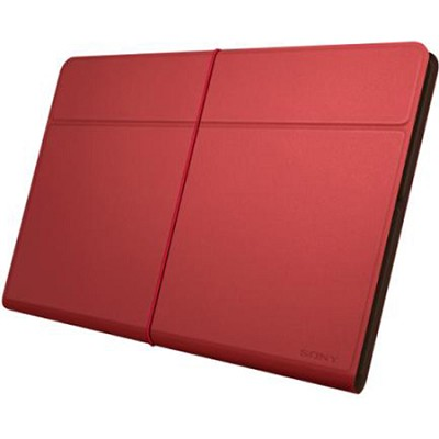 SGPCV5/R Red Leather Cover for Xperia Tablet Z