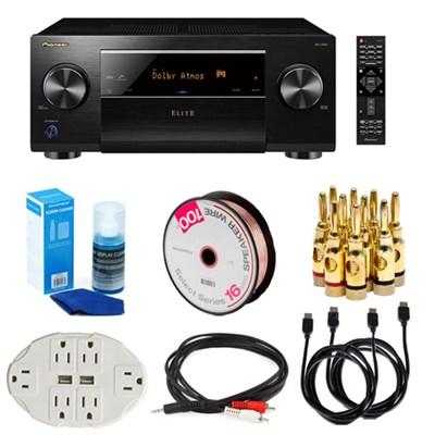 SC-LX501 Elite 7.2 Channel D3 Wi-Fi & Bluetooth Network AV Receiver Bundle