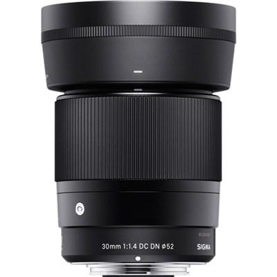 30mm F1.4 Contemporary DC DN Lens for Sony E - 302965 - OPEN BOX
