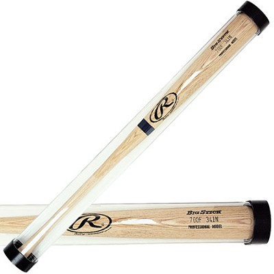Baseball Bat Display Clear Tube up to 34`