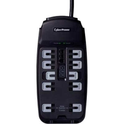 2850J 10-Outlet Surge Protector with 8' Cord - CSP1008T