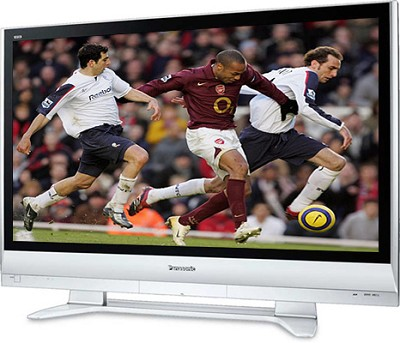 TH-42PX60U 42` high-definition Plasma TV w/ SD memory card slot - OPEN BOX