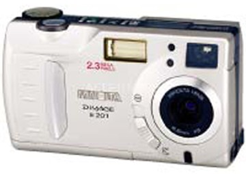 Dimage E201 Digital Camera
