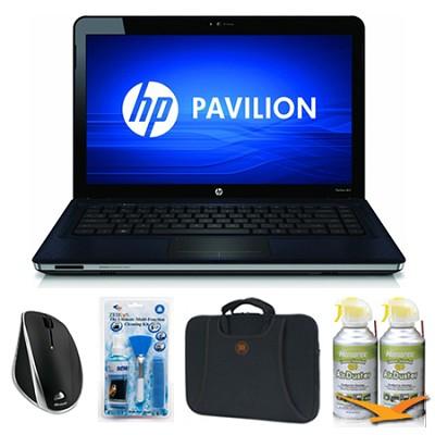 Pavilion 14.5` dv5-2230us Blue Notebook Essentials Bundle
