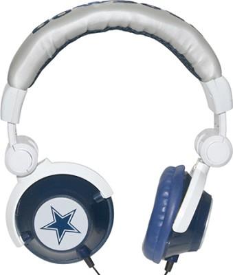 NFL Football Licensed Dallas Cowboys DJ Style Headphones