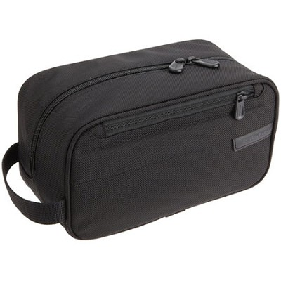 110-4  Baseline 10` Classic Toiletry Kit - Black