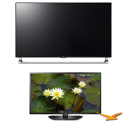 65-Inch 240Hz 3D Nano-Full LED 4K UHDTV SmartTV 2 TV Bundle