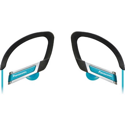 RP-HS220-A Inner Ear Clip Sports Earphones with Extension (Blue)