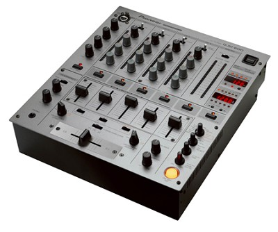 DJM-600 Pro DJ Mixer (Silver)