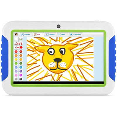 FunTab 4GB 7` Multi-Touch Screen Kids Tablet with Android 4.0 (Blue and Green)