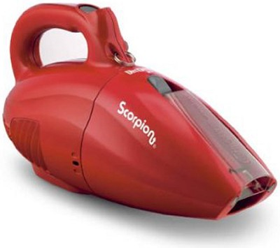 SD20005RED Scorpion Quick Flip 7 AMP Hand Vac - RED