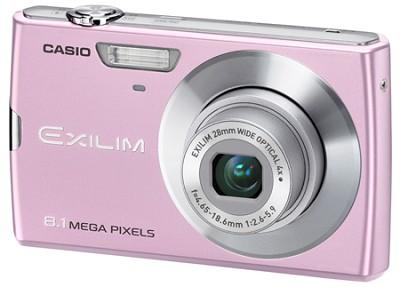 Exilim Z150 8.1 Megapixel Camera (Pink)