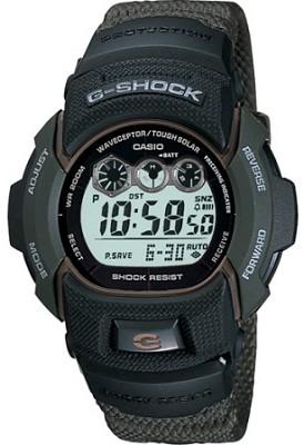GW002KA-3V - Men's G-Shock Atomic Solar Green Resin Watch