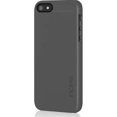 Feather Case for iPhone 5 - Charcoal Gray