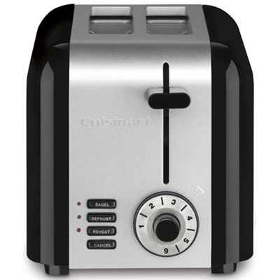 CPT-320FR Compact 2-Slice Toaster, Brushed Stainless - Manufacturer Refurbished