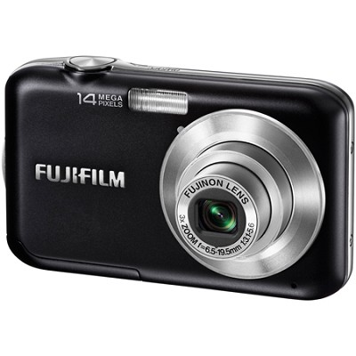 FINEPIX JV200 3x Optical Zoom 14 MP Digital Camera (Black)